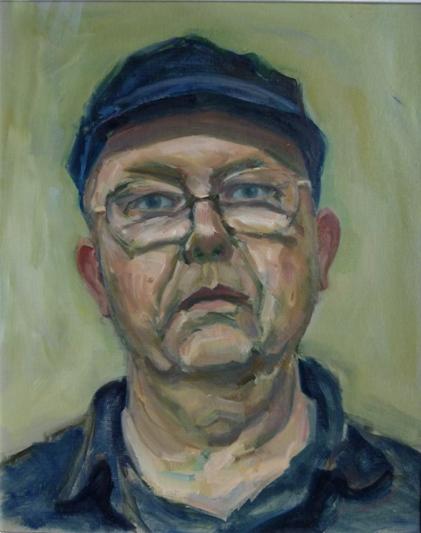 self portrait of John Pegg