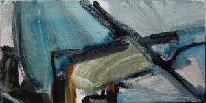 Abstract, Blue II