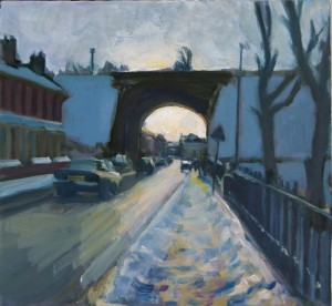 Snowy Street, Radcliffe