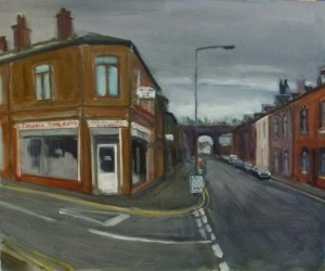 Chip Shop and Bridge, Radcliffe