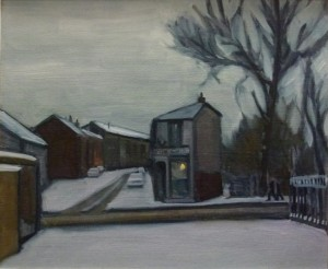 Radcliffe Chip Shop, Winter