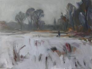 Snow, Lindow Common