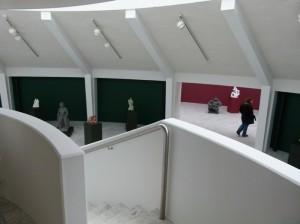 Visitor, the Asmundur Sveinsson Art Museum, Reykjavik