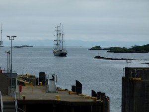 Tall Ship, Tarbert, Isle of Harris