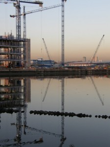 Construction, Salford Quays
