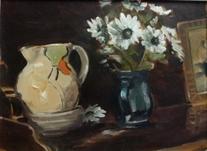 Still Life, Jugs and Flowers